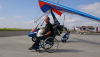 Storms delay world record microlight flight