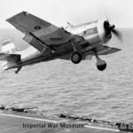 Grumman Hellcat makes an abortive landing