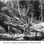 Remains of a Japanese headquarters on Ramree Island