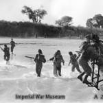 Royal Marines of the East Indies Fleet landing on Cheduba Island
